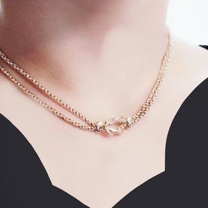 Tiffany & Co. Knot Double Strand Necklace 17""